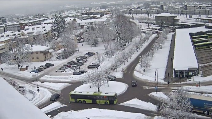 The municipality of Skedsmo. Norway. Web camera online.