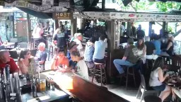 Panoramic webcam online. Bar Hog's Breath Saloon. USA, Florida, Key West.
