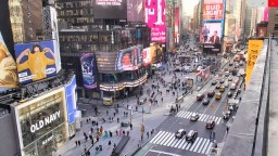 Times Square, Manhattan, New York, USA. Live webcam streaming.