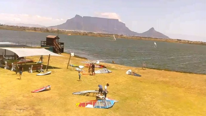 The Milnerton Aquatic Club. Cape Town, South Africa. Webcam online.