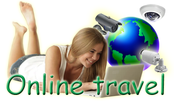 Online travel. Live streams from around the world.